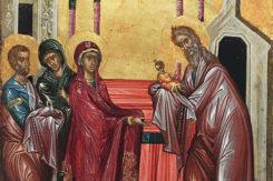 Festa Dell'incontro Icona Bizantina