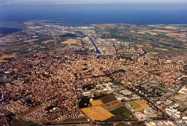 Ravenna Veduta Aerea