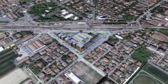 Rendering Riqualificazione Lugo Sud Ex Acetificio Venturi