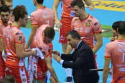 Coach Graziosi Carica La Squadra