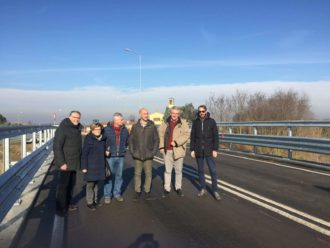 La riapertura del ponte