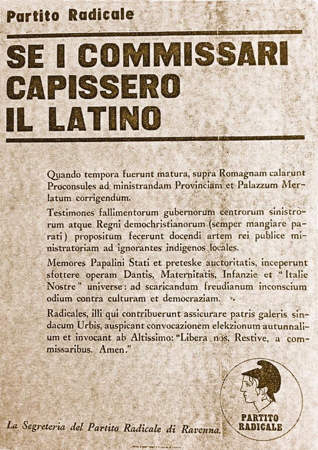 Manifesto Radicali 1968