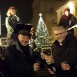 Il sindaco e Sangiorgi del Mei brindano a Faenza