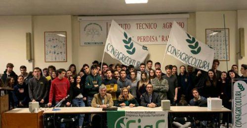 Confagricoltura Ravenna All'Istituto Perdisa Foto Di Gruppo2