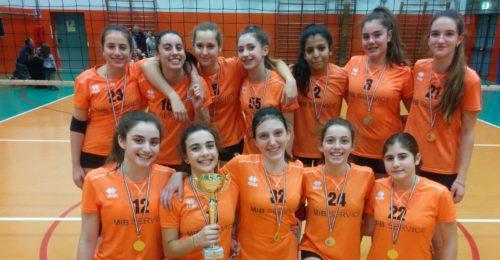 Teodora U14 Campione Provinciale 2018 19 Vetri