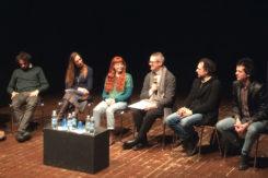 Da Sx Kepler 452, Simona Bertozzi, Claudio Longhi, Teatrino Giullare, Fanny & Alexander