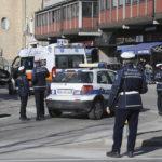 RAVENNA 25/02/2019. INCIDENTE IN VIALE FARINI. Auto Della Polizia Municipale Investe Una Coppia Di Anziani Sulle Strisce Pedonali