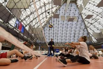 In Azione Con Il Sitting Volley Volley Insieme 2018