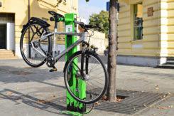 Mantis Bike Stand Installato