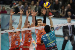 RAVENNA 3/03/2019. VOLLEY PALLAVOLO. CONSAR RAVENNA SIR SAFETY PERUGIA