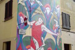 Murales Coquelicot Mafille