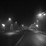 """Via del Foro Boario (Lorenzo Tugnoli, dalla serie """"La notte e lo zen"""", nell'ambito del progetto Lugo Land 2009, a cura di Luca Nostri)"""