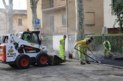 Asfalti Via Cavour Aprile 2019