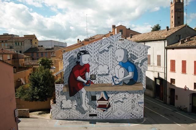 Murales di Milo d Forlì