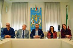 Il Sindaco Luca Piovaccari E La Nuova Giunta Di Cotignola