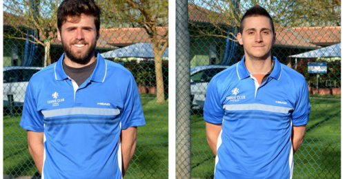 Tennis Club Faenza Serie C A Sinistra Edoardo Pompei, A Destra Roberto Zanchini