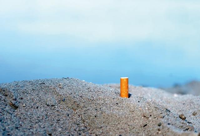 Sigaretta Spiaggia