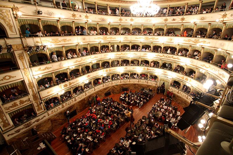 Teatro Bonci Con Pubblico