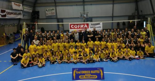 Volley Mattei Il Gruppo Degli Atleti
