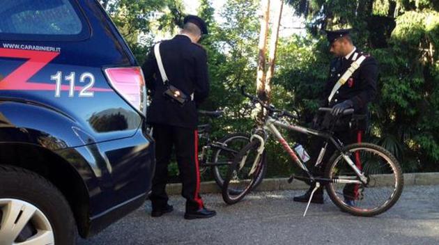 Carabinioeri Furto Bici