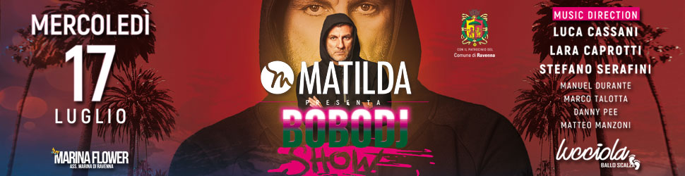 MATILDA – BOBO VIERI DJ HOME BILLB TOP 08 – 17 07 19