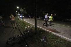 RAVENNA 21/07/2019. INCIDENTE A MARINA ROMEA. Ciclista Travolto Da Auto Pirata Sulle Strisce Pedonali