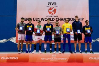 Premiati Mondiali U21