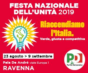 PD RAVENNA FESTA NAZIONALE 2019 – HOME RD 19 08 – 09 09 19
