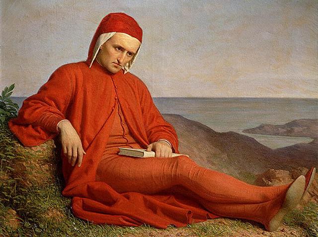Dante Esilio Ritratto