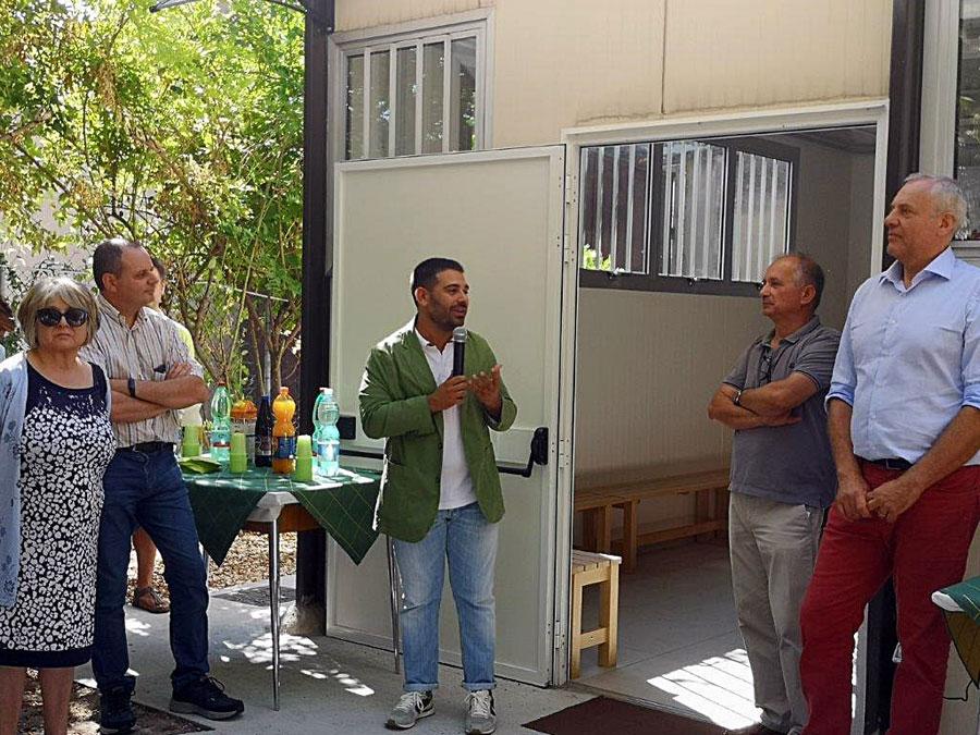 Il Sindaco Davide Ranalli All'inaugurazione Di Velocibo
