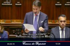 Il discorso del premier Giuseppe Conte