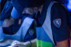 Etilometro Polizia