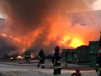 Incendio Baiona Ric