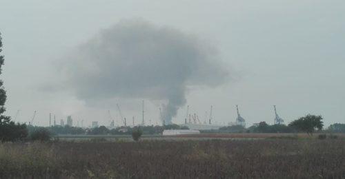 Incendio Ravenna