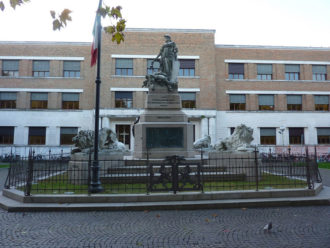 19 10 17 Monumento Ai Caduti Dell'indipendenza D'Italia E Ad Anita Garibaldi