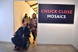 Chuck Close Mosaics