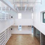 Uno scatto dall'interno del nuovo Archivio Arcivescovile