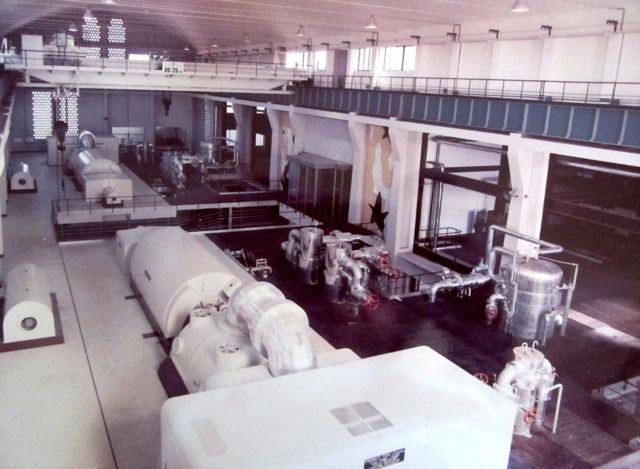 Interno Centrale Elettrica