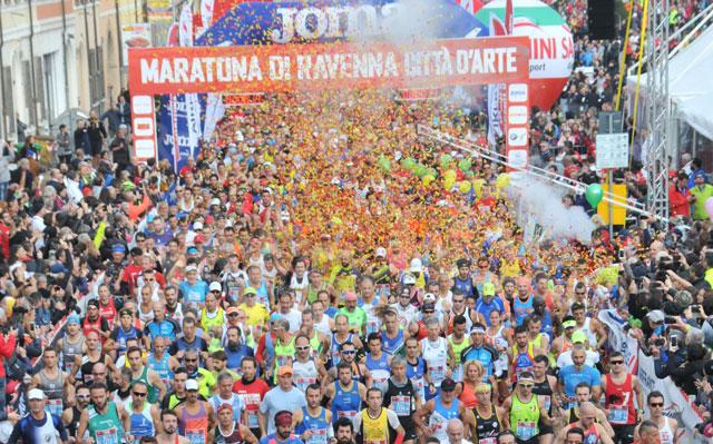 Partenza Maratona Ravenna 2018 01