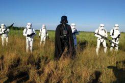 Vader E Stormtrooper Foto Di Marco Puglia