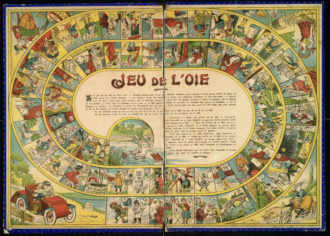 19 12 13 Classense 4 Jeu De L'oie 1890 1899 Francia