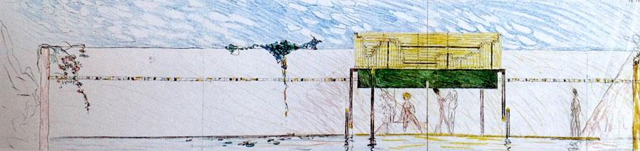 39 Carlo Scarpa Tomba Brion (progetto)