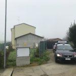 I carabinieri nella casa dell'omicidio