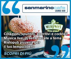 SAN MARINO CAFE CULT MR 05 12 19 – 02 02 20
