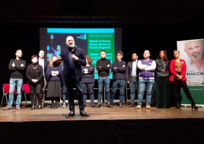 Bonaccini Candidati Regionali