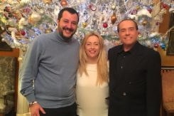 Meloni Berlusconi Salvini