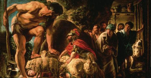 4 Jordaens Ulisse E I Compagni Scappano Dall'antro Di Polifemo