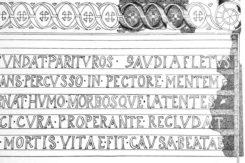 Iscrizione Cappella S Andrea