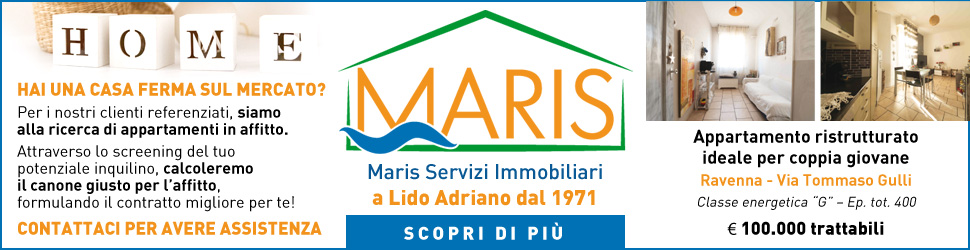 AGENZIA MARIS BILLB CP 25 02 03 20 – 30 09 21