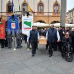 Feretro Piazza Commemorazione Matteucci